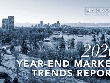 Madison & Company 2020 Year End Market Trends Report