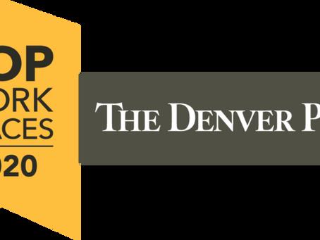 Colorado Top Workplaces 2020 Award - Madison & Co. Properties