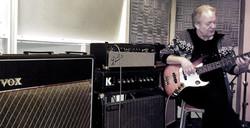 Henk in Studio 'Het Pand'