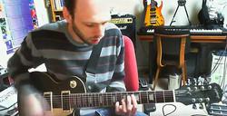 Guest musician Dennis de Bruijn
