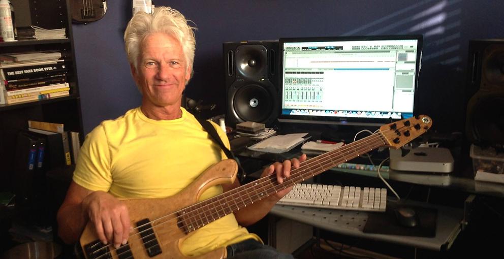 Guest musician Chris Buck