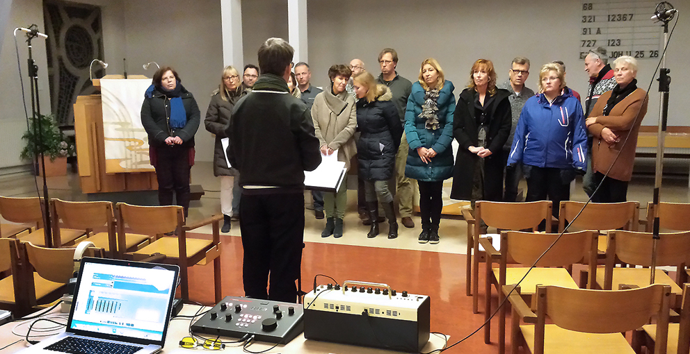 Kyregma Choir recording
