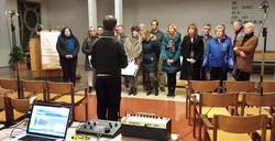 Kyregma Choir recording