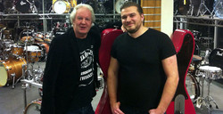 With guest musician Albert Houwaart