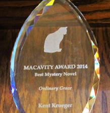 Macavity Award Nomination