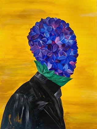 """African Violet: Changing the Narrative  - 12"""" x 16"""" (30 LIMITED PRINTS ONLY)"""