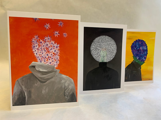 The Combo Pack (Six Greeting Cards)