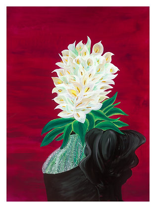 """Calla Lilies: Freedom Looks Good On You  - 12"""" x 16"""" (30 LIMITED PRINTS)"""