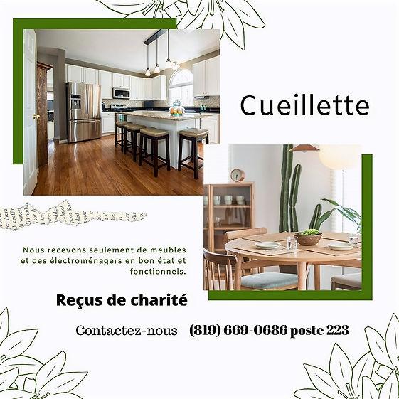Don de meubles Gatineau