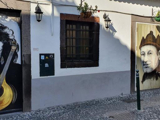 Madeira: Streetart in Funchal – Die bunten Türen der Altstadt