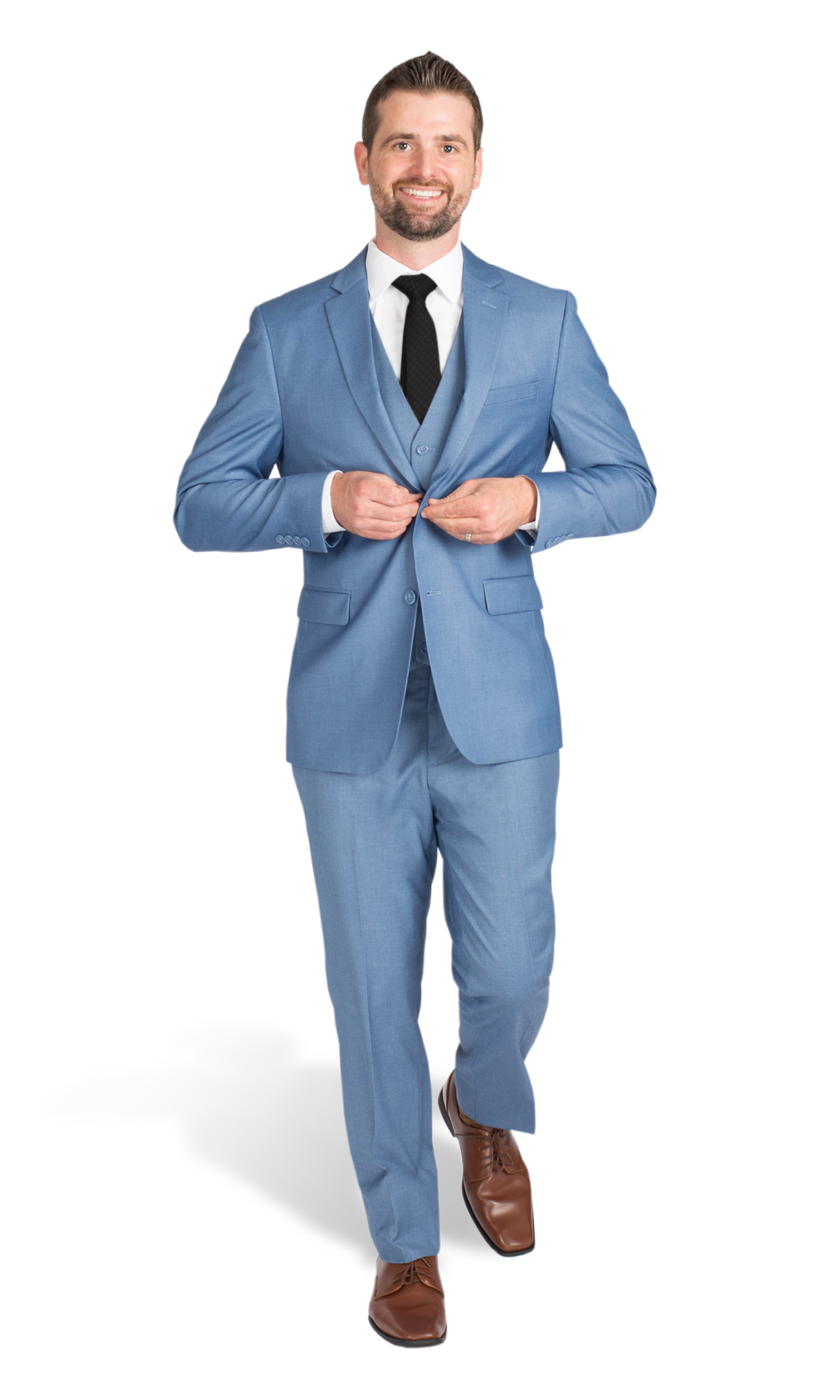 Light Blue Verona Slim Fit Tux