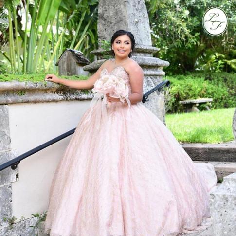 Vestido de Quinceanera Blush