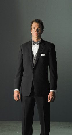 Black Valencia Slim Fit Suit