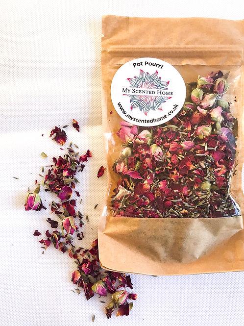 Fragrant Rose and Lavender Pot Pourri - Handmade