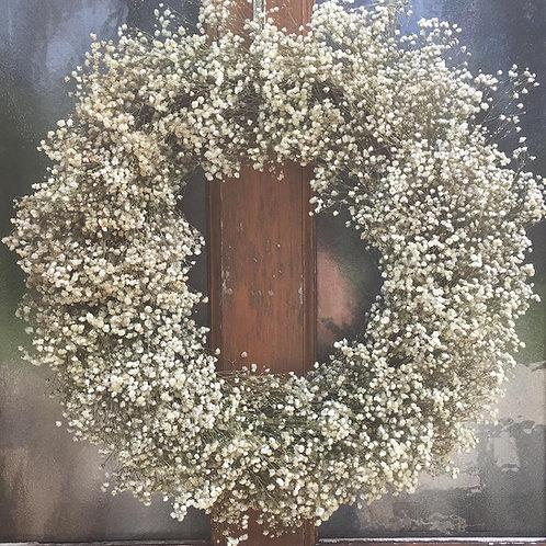 Stunning Gypsophila Wreath - Handmade