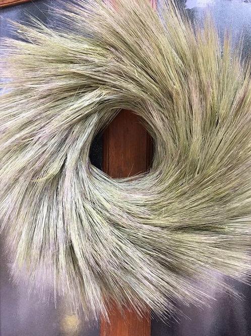 Dried Barley Wreath