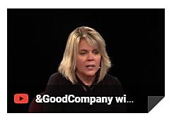 """&Good Company with Sara Fiedelholtz""  1.22.21"