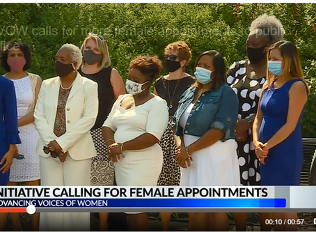 """""""Advancing Voices of Women Call for More Appointments of Women to Public Office"""" 8.25.2020"""