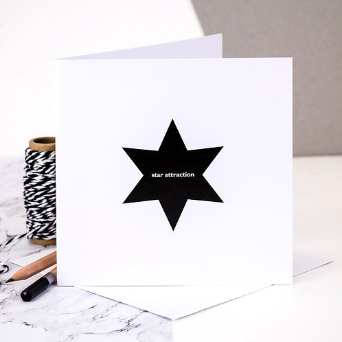 Star Attraction Card