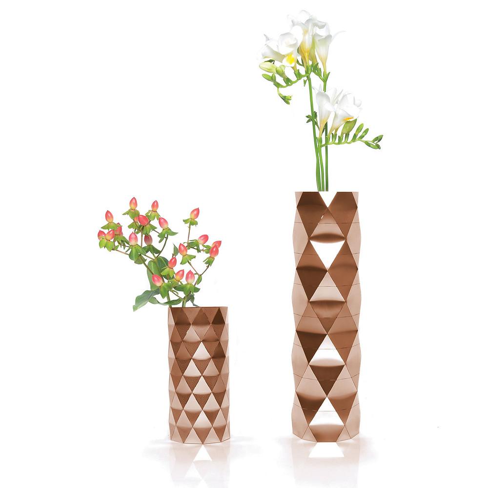 Convert Vase Copper