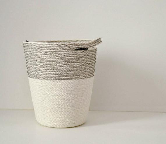 rope laundry basket