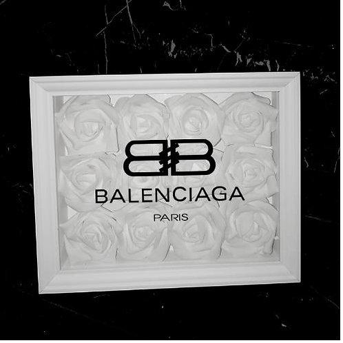 """Glowbox """"Art"""" Balenciaga Logo"""