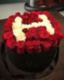flowerbox / rose eternelle / la belle rose paris