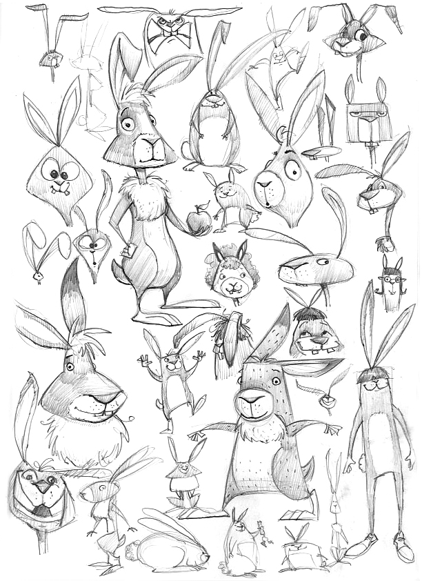 rabbit-sketches