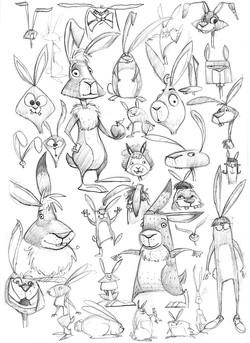 rabbit-sketches