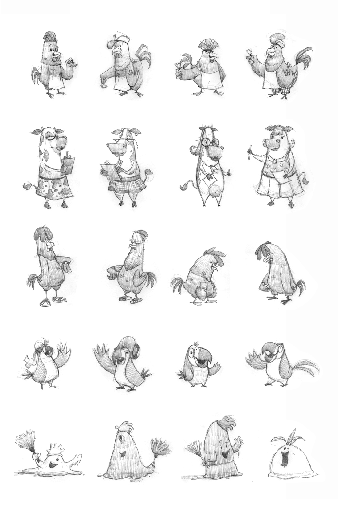 Rooster Story Studies