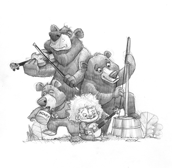 Goldilocks & The Three Bears String