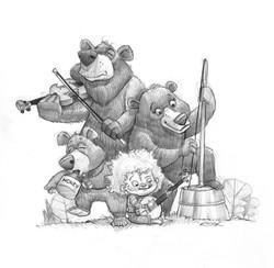 Goldilocks & The Three Bears String