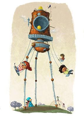 Playground robot.