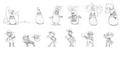 Zucchini Characters