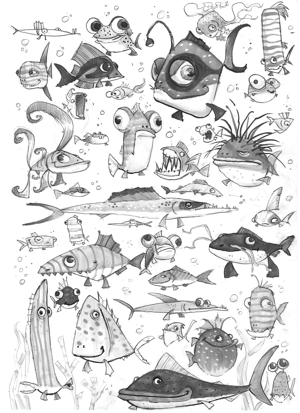 fish-sketches