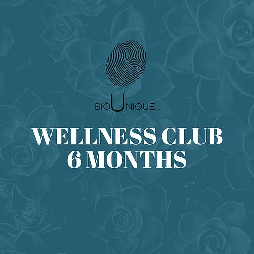 BioUnique Wellness Club - 6 Month Care Plan