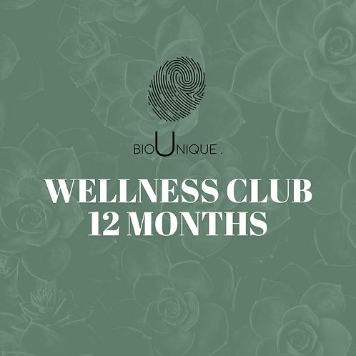 BioUnique Wellness Club - 12 Month Care Plan