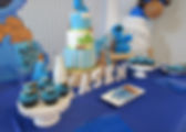 Cookie Monster Dessert Table Detailed Sh