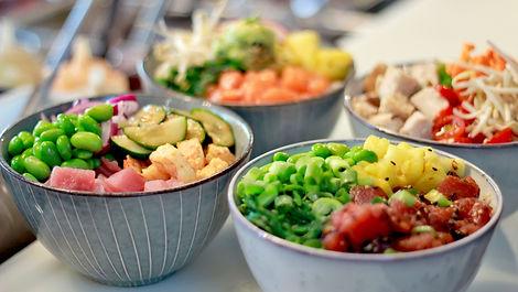 poke bowls restaurant