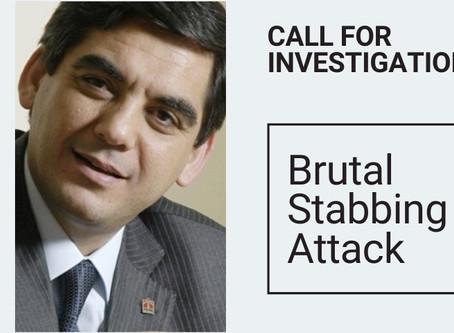 CALL FOR INVESTIGATION: Brutal Stabbing Attack on Businessman Hazim Sesli at Menemen Penitentiary