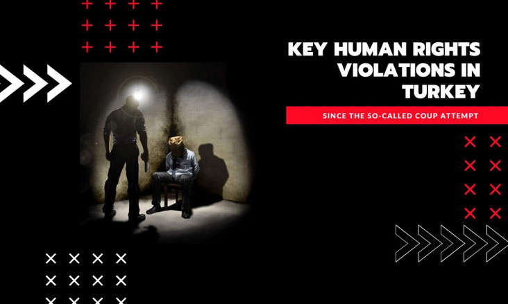 KEY HUMAN RIGHTS VIOLATIONS IN TURKEY SINCE THE SO-CALLED COUP ATTEMPT