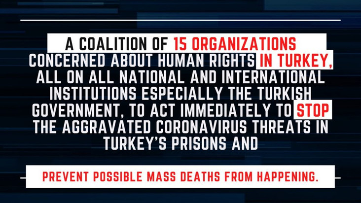 PRESS RELEASE: URGENT CALL TO ACTION FROM 15 ORGANIZATIOS TO TURKEY AND INTERNATIONAL ORGANIZATIONS