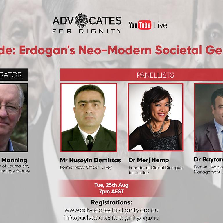 Erdocide: Erdogan's neo-modern societal genocide