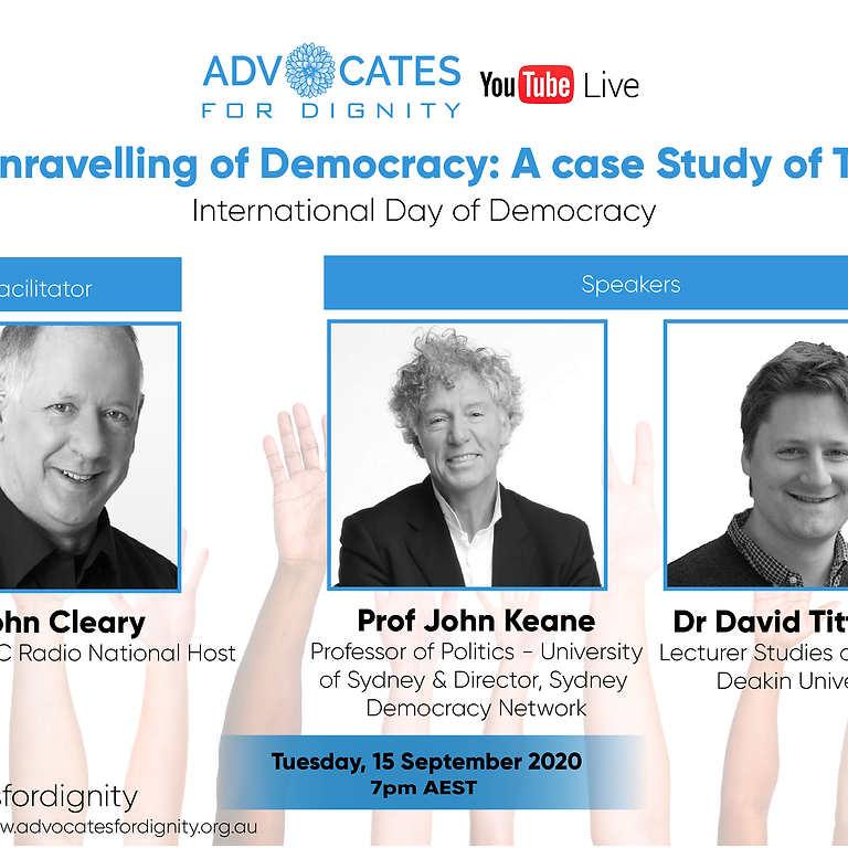 International Day of Democracy  The Unravelling of Democracy: The Case Study of Turkey