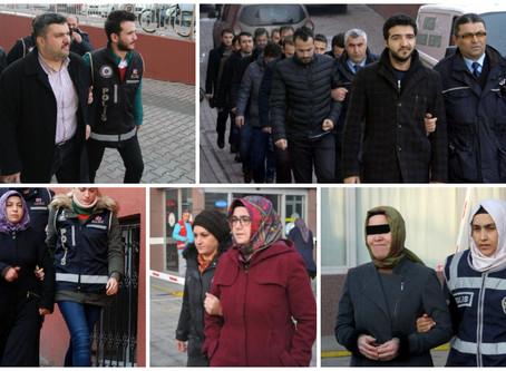 518 people detained over Gülen links in past week: gov't