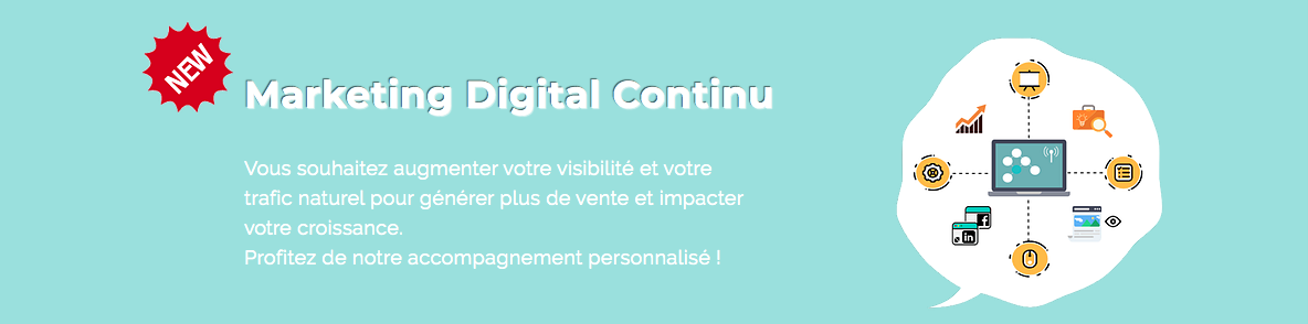 Marketing digital continu