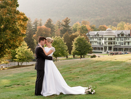 Ausable Club, Keene Valley - Molly & Ryan