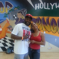 Me n Will Stylez at the Bboy jam #Attack