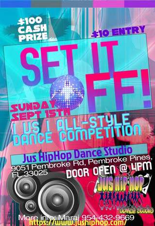 Win $100 All Styles Battle this Weekend Sept 15, 2019 at 4pm!!