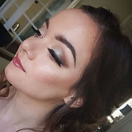 Loved this prom makeup and hair  on the